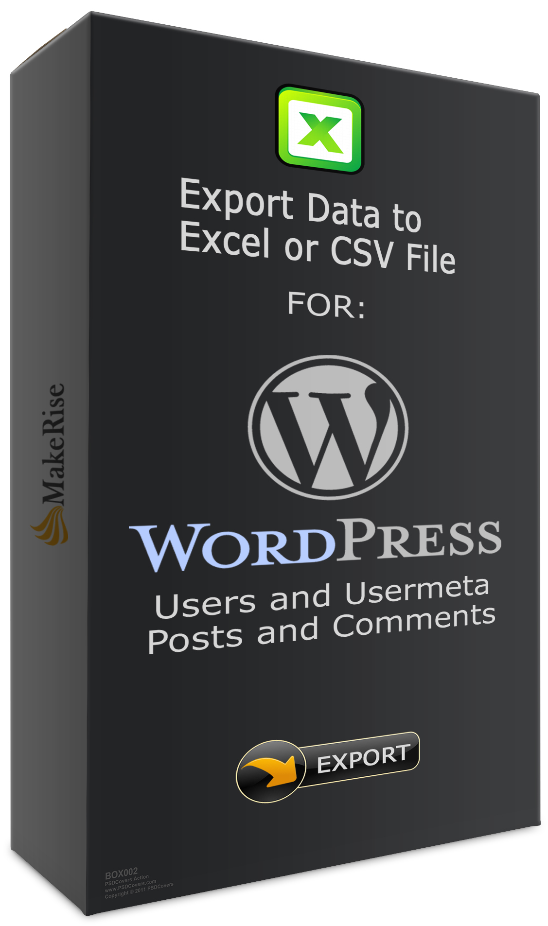 WordPress Export Data From WordPress To Excel CSV File